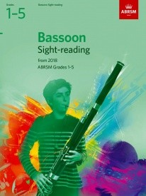 ABRSM Sight-Reading Tests Grade 1 to 5 for Bassoon from 2018