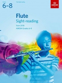 ABRSM Sight-Reading Tests Grade 6 to 8 for Flute from 2018
