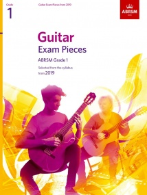 ABRSM Guitar Exam Pieces from 2019 Grade 1 (Book Only)