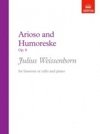 Arioso and Humoreske Opus 9 (Bassoon or Cello) by Weissenborn published by ABRSM