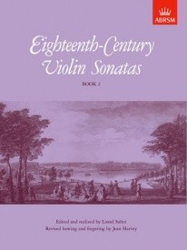 18th Century Violin Sonatas Book 2 for Violin published by Associated Board of the Royal Schools of Music (ABRSM)