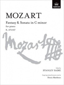 Mozart: Fantasy and Sonata in C Minor K475/457 for Piano published by ABRSM