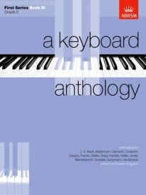 Keyboard Anthology 1st Series Book 3 Grade 5 for Piano published by ABRSM