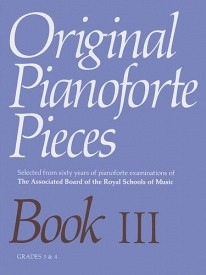 Original Piano Pieces Book 3 published by ABRSM