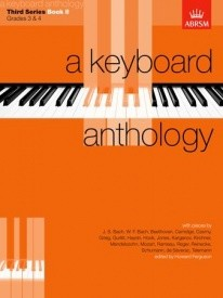 Keyboard Anthology 3rd Series Book 2 Grades 3 & 4 for Piano published by ABRSM