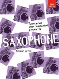 22 Unaccompanied Pieces for Saxophone published by ABRSM