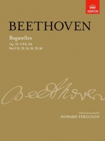 Beethoven: Bagatelles for Piano published by ABRSM