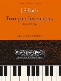 2 Part Inventions by Bach for Piano Published by ABRSM