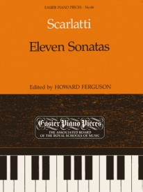 11 Sonatas for Piano by Scarlatti published by ABRSM