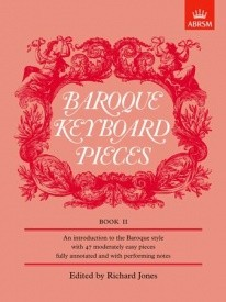 Baroque Keyboard Pieces Book 2 for Piano published by ABRSM