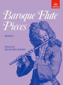 Baroque Flute Pieces Book 1 published by ABRSM