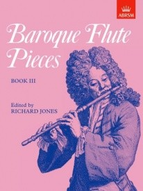 Baroque Flute Pieces Book 3 published by ABRSM