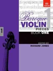 Baroque Violin Pieces Book 1 published by ABRSM