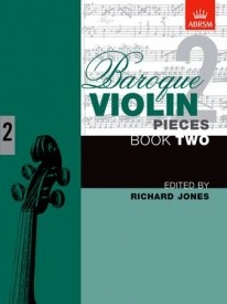 Baroque Violin Pieces Book 2 published by ABRSM