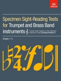 ABRSM Sight Reading Tests Grade 1 - 5 for Trumpet