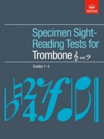 ABRSM Sight Reading Tests Grades 1 - 5 for Trombone