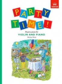 Party Time for Violin published by ABRSM