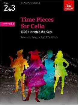 Time Pieces for Cello Volume 2 published by ABRSM