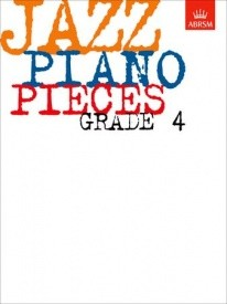 Jazz Piano Pieces Grade 4 published by ABRSM