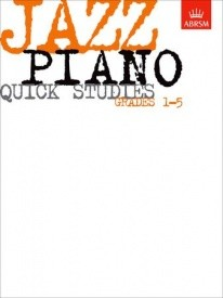 Jazz Piano Quick Studies Grade 1 - 5 published by ABRSM