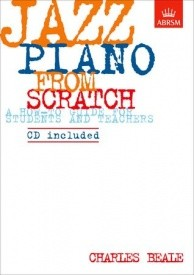 ABRSM Jazz Piano from Scratch Book & CD