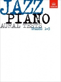 ABRSM Jazz Piano Aural Tests Grade 1 - 3