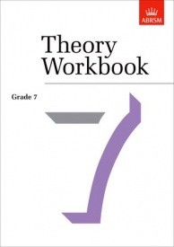 Theory Workbook Grade 7 published by ABRSM