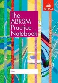 Practice Notebook published by ABRSM