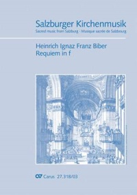Biber: Requiem in F minor Vocal Score published by Carus