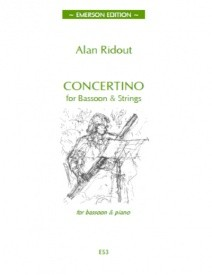Concertino by Ridout for Bassoon published by Emerson