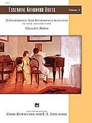 Essential Keyboard Duets Volume 2 for Piano published by Alfred