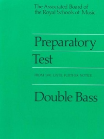 ABRSM Prep Test for Double Bass