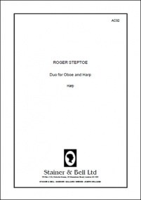 Steptoe: Duo for Oboe and Harp published by Stainer & Bell