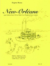 Bozza New Orleans for Bass Trombone or Tuba published by Leduc