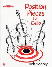 Mooney: Position Pieces 1 for Cello published by Alfred