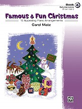Famous & Fun Christmas 4 for Piano published by Alfred