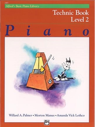 Alfred/'s Basic Piano Library Technic Book Level 1B