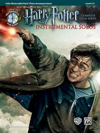 Harry Potter Instrumental Solos (Complete Film Series) for Cello Book & CD published by Alfred
