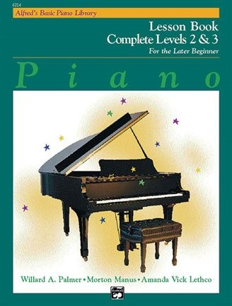 Alfred Basic Piano Lesson Book Complete Level 2 and 3