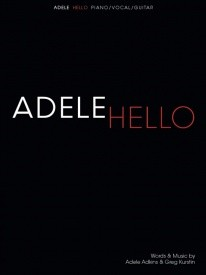 Hello by Adele (PVG) published by Wise