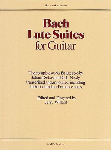 Bach: Lute Suites For Guitar published by Ariel