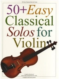 50+ Easy Classical Solos For Violin published by Wise