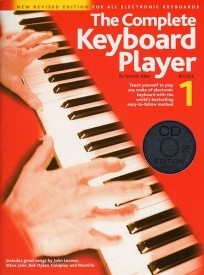Complete Keyboard Player 1 Book & CD Revised Edition published by Wise