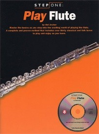Step One: Play Flute Book & CD published by Amsco