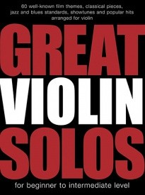 Great Violin Solos published by Wise
