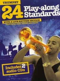 24 Play-Along Standards With A Live Rhythm Section - Trumpet published by Wise