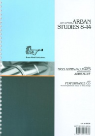 Arban: Studies 8 - 14 Book & CD by Arban for Trumpet published by Brasswind