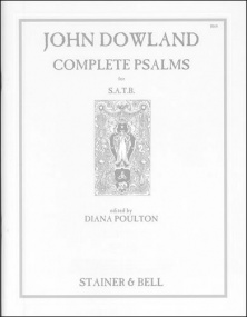 Dowland: The Complete Psalm Settings published by Stainer & Bell