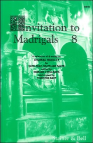 Invitation to Madrigals Book 8 (SATB/SSAT/SSATB/SATTB) published by Stainer & Bell