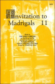 Invitation to Madrigals Book 11 (SSATB/SATTB) published by Stainer & Bell